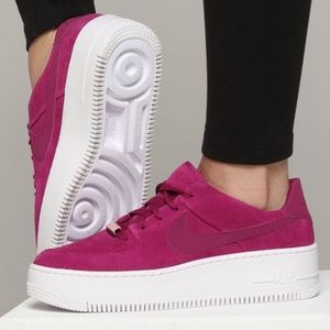 Nike Air Force 1 Sage Purple Suede Size 11